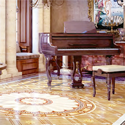 From our Heritage Marquetry range, the Exclusive Collection can transform your halls.
