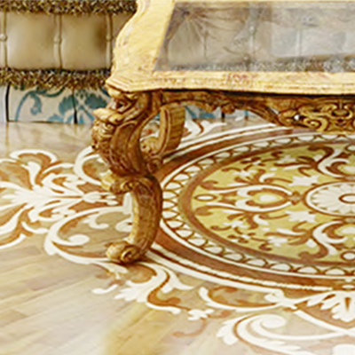 With the right furniture combined with Heritage Marquetry, the Fantasia Collection adds fantasy to your world.