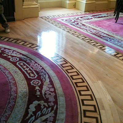 Heritage Marquetry, now installed at the lavish Lanesborough Hotel.